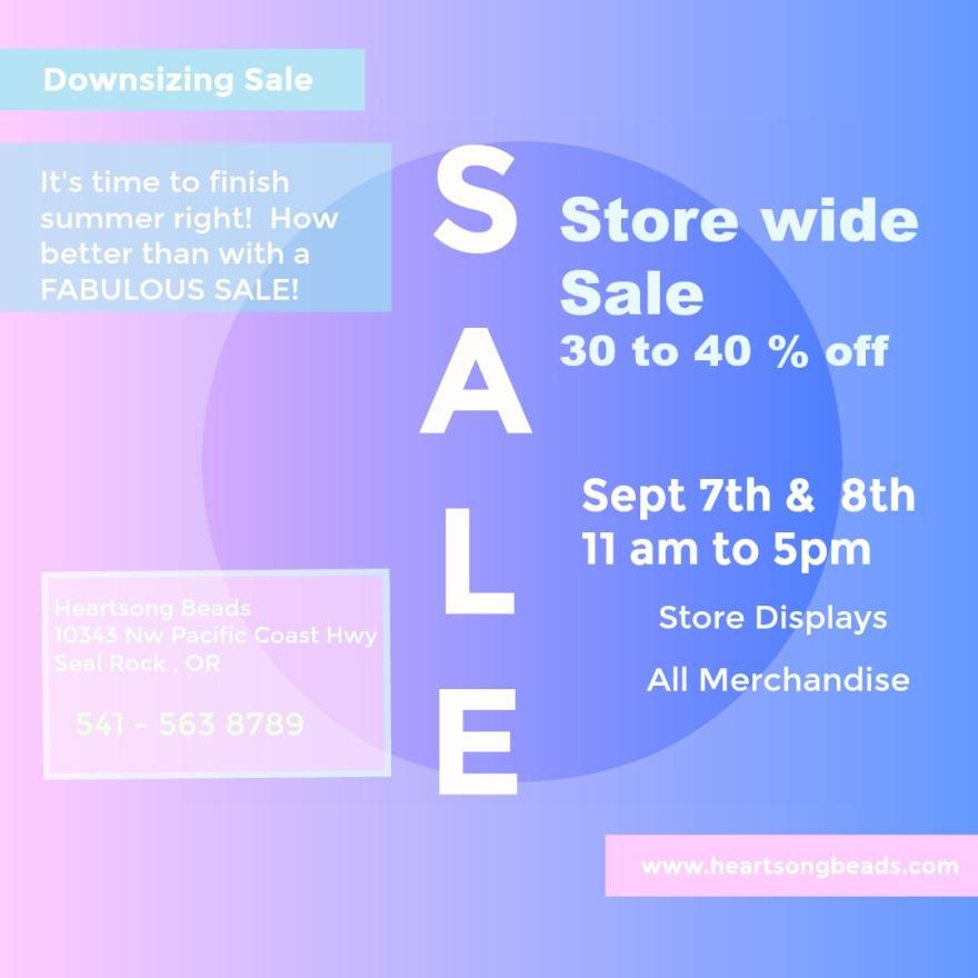 down size sale 2018